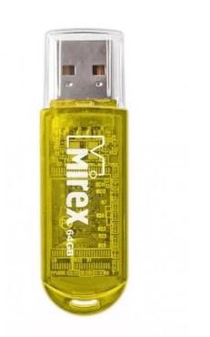 Фото - Флеш накопитель 64GB Mirex Elf, USB 2.0, Желтый флеш накопитель 64gb mirex elf usb 2 0 синий