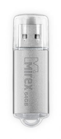 Фото - Флеш накопитель 64GB Mirex Unit, USB 2.0, Серебро usb флеш накопитель perfeo 4gb c04 красный