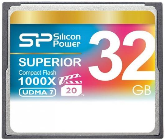 Флеш карта CF 32GB Silicon Power, 1000X
