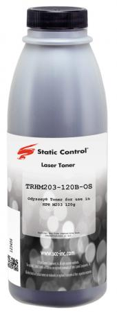 Фото - Тонер Static Control TRHM203-120B-OS черный флакон 120гр. для принтера HP LJ M203/M227 тонер static control trs1610 80b os для samsung ml1615 черный 80гр