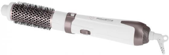 Фен-щетка Rowenta Premium Care Hot Air Brush —Вт белый розовый CF7830F0
