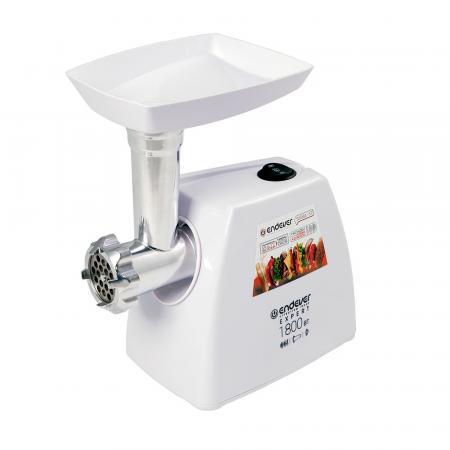 57-Sigma Мясорубка Endever Мощность при блокировке -1800 Вт.производительность до 2,2 кг/мин.