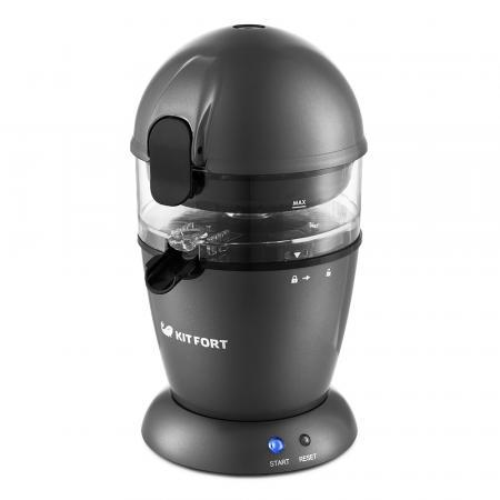 1115-КТ Автоматическая соковыжималка для цитрусовых Kitfort.Мощность: 50 Вт.Длина шнура: 1 м. соковыжималка для цитрусовых steba zp 2