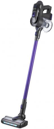 543-2-КТ Вертикальный пылесос «2 в 1» Kitfort Мощность: 160 Вт.Ёмкость пылесборника: 0,8 л.фиолетов.