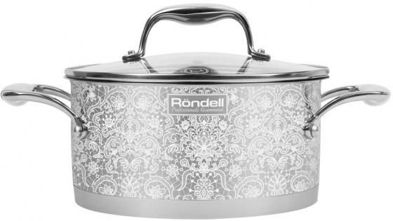 Кастрюля Rondell RDS-1055 24 см 5 л нержавеющая сталь кастрюля rondell edel 24 см 5 1 л нержавеющая сталь