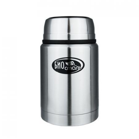 750-NTS Термос BIOSTAL с широкой горловиной, суповой 0,75 л. С ЛОЖКОЙ термос с широкой горловиной добрыня жостово