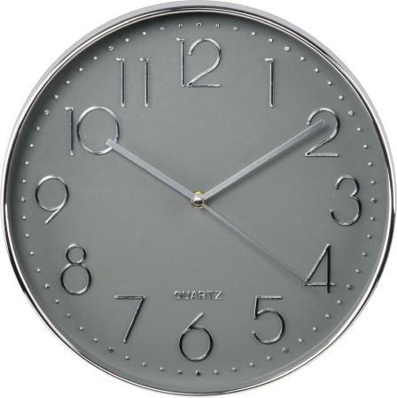 Часы настенные аналоговые Hama Elegance серебристый ложка atmosphere elegance цвет серебристый