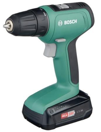 Дрель-шуруповерт Bosch UniversalDrill 18 аккум. патрон:быстрозажимной