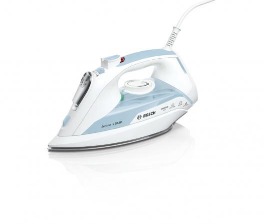 лучшая цена Утюг Bosch TDA5028120 2800Вт белый/голубой