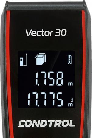 Фото - Лазерный дальномер Condtrol Vector 30 лазерный дальномер condtrol vector 600