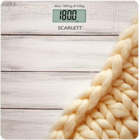 Весы напольные Scarlett SC-BS33E089 рисунок весы напольные scarlett sc bsd33m951