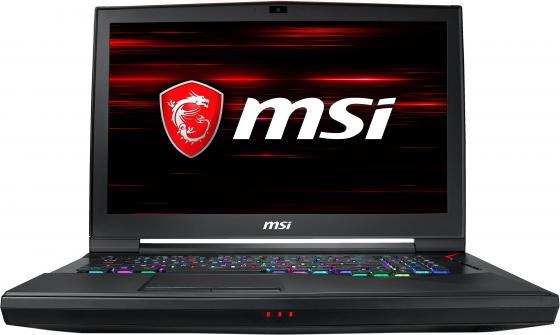 Ноутбук MSI GT75 Titan 9SG-418RU Core i7 9750H/32Gb/1Tb/SSD512Gb/nVidia GeForce RTX 2080 8Gb/17.3/IPS/FHD (1920x1080)/Windows 10/black/WiFi/BT/Cam