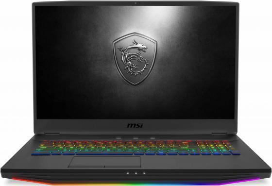 "Ноутбук MSI GT76 Titan 9SG-022RU Core i7 9750H/64Gb/1Tb/SSD512Gb/nVidia GeForce RTX 2080 8Gb/17.3""/UHD (3840x2160)/Windows 10/black/WiFi/BT/Cam msi nightblade mi 025ru core i7 4790s 3 2ghz 8gb 1tb dvdrw gtx960 bt win10 home black 9s6 b08911 026"