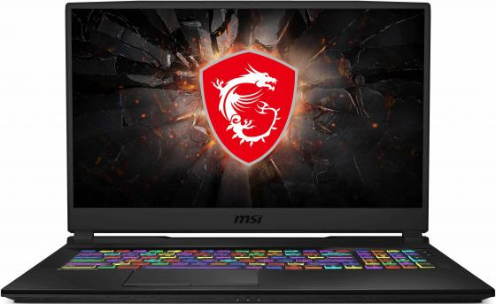 Ноутбук MSI GL75 9SCK-011RU Core i5 9300H/8Gb/SSD512Gb/nVidia GeForce GTX 1650 4Gb/17.3/IPS/FHD (1920x1080)/Windows 10/black/WiFi/BT/Cam