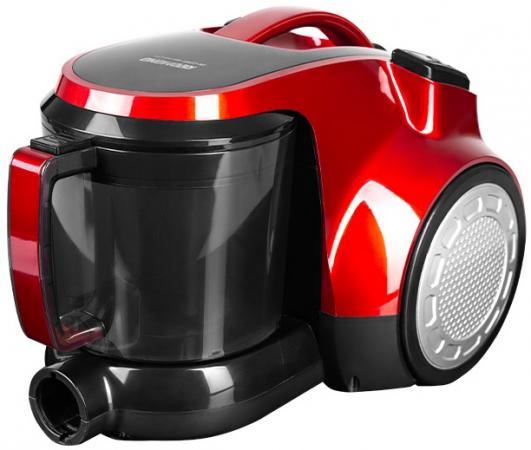 купить Пылесос Redmond RV-C343 1800Вт красный/черный по цене 5560 рублей