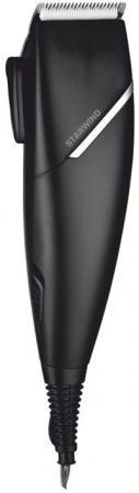 лучшая цена Машинка для стрижки волос StarWind SBC1711 чёрный серебристый