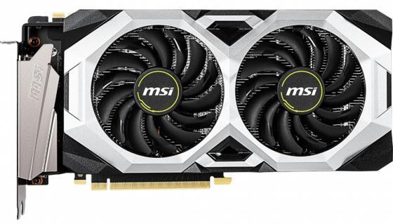 Видеокарта MSI PCI-E RTX 2070 SUPER VENTUS nVidia GeForce RTX 2070SUPER 8192Mb 256bit GDDR6 1770/14000/HDMIx1/DPx3/HDCP Ret