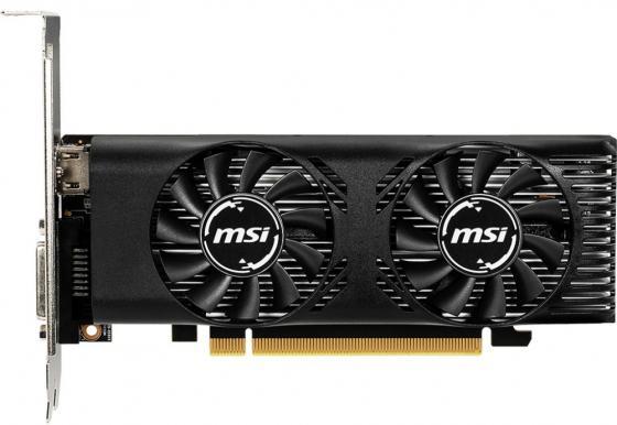Видеокарта MSI PCI-E GTX 1650 4GT LP OC nVidia GeForce GTX 1650 4096Mb 128bit GDDR5 1485/8000 DVIx1/HDMIx1/HDCP Ret low profile видеокарта 1024mb powercolor r7 250 pci e gddr5 128bit dvi hdmi hdcp crt axr7 250 1gbd5 hv4e oc oem