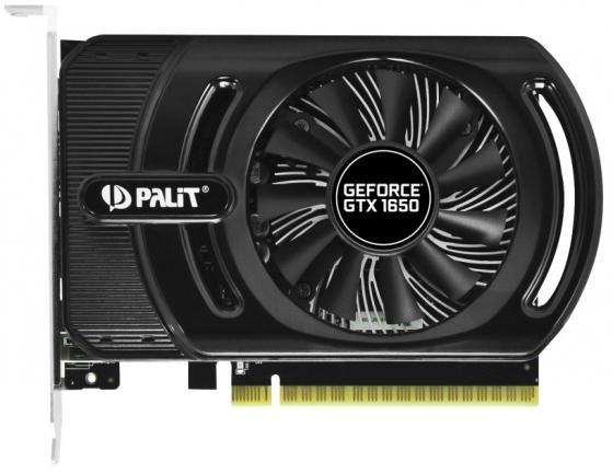 Видеокарта Palit GeForce GTX 1650 StormX OC+ PCI-E 4096Mb GDDR5 128 Bit Retail NE51650S1BG1-1170F все цены