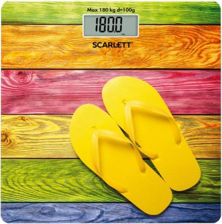 Весы напольные Scarlett SC-BS33E057 рисунок весы напольные scarlett sc bsd33m951