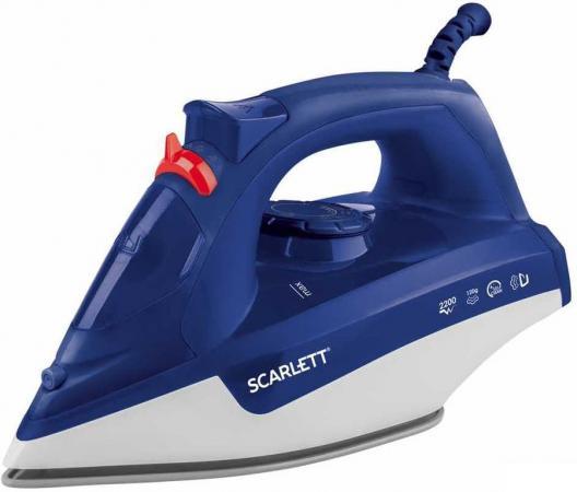 лучшая цена Утюг Scarlett SC-SI30P16 2200Вт синий