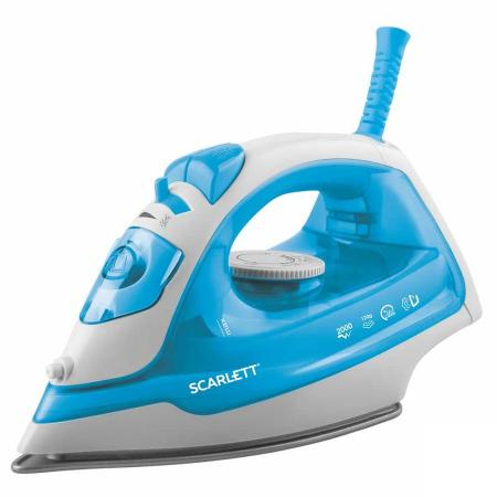 лучшая цена Утюг Scarlett SC-SI30P12 голубой
