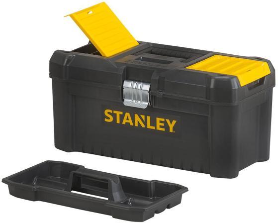 ЯЩИК Д/ИНСТ. ESSENTIAL TB МЕТ.ЗАМ 16 STST1-75518 Stanley ящик с органайзером stanley stst1 75517 essential 40 6x20 5x19 5 см 16 черный