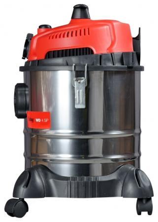 Строительный пылесос Fubag WD 4SP 1400Вт (уборка: сухая/влажная) серебристый