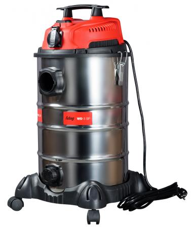 Строительный пылесос Fubag WD 5SP 1400Вт (уборка: сухая/влажная) серебристый