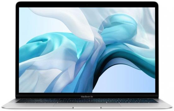 Ноутбук Apple MacBook Air 13.3 2560x1600 Intel Core i5-8210Y 256 Gb 16Gb Intel UHD Graphics 617 серебристый macOS Z0X3000AV, Z0X3/5
