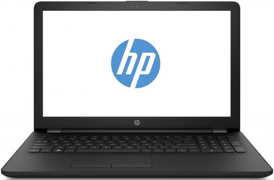 "Ноутбук 15.6"" FHD HP 15-ra105ur/s black (Pen 4417U/4Gb/1Tb/noDVD/VGA int/W10) (7MY06EA) цена и фото"