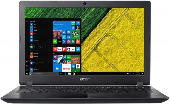 "Ноутбук 15.6"" HD Acer Aspire A315-32-P7NL/s black (Pen N5000/4Gb/500Gb/noDVD/VGA int/Linux) (NX.GVWER.006) ноутбук acer aspire e5 772g 57b3 nx mvcer 006 nx mvcer 006"