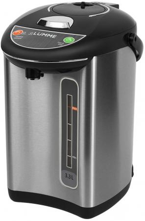 Термопот Lumme LU-299 750 Вт светлый обсидиан 3.3 л нержавеющая сталь цена и фото
