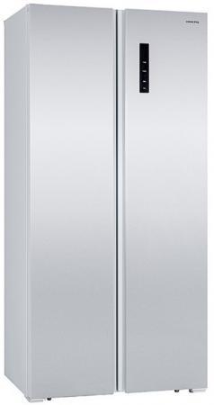 Холодильник HIBERG RFS-480DX NFW белый