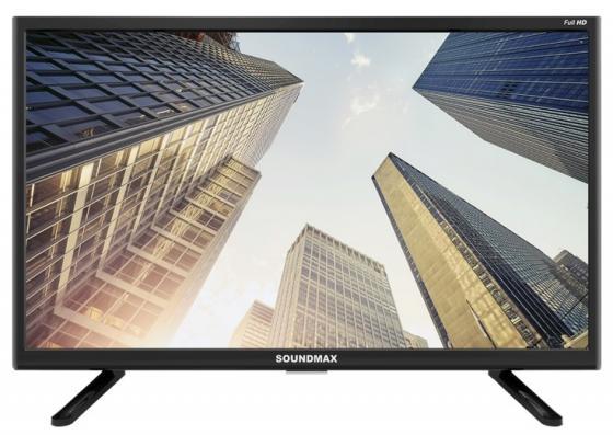 Фото - Телевизор LED Soundmax SM-LED22M06 (черный) led телевизор akai lea 39d102m черный