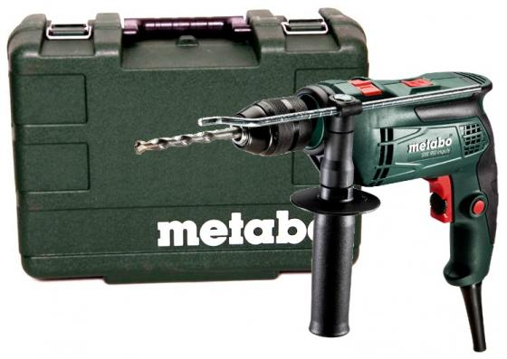 цена на Дрель ударная Metabo SBE 650 Impuls 650Вт патрон:быстрозажимной реверс (кейс в комплекте)