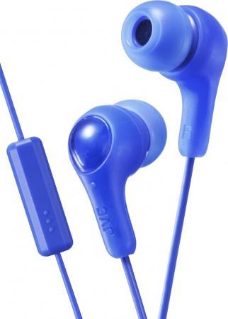 JVC HA-FX7M-A-E Наушники-гарнитура (вкладыши), синий jvc ha enr15 w white наушники