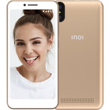 Смартфон Inoi 3 Lite золотистый 5 8 Гб Wi-Fi GPS 3G Bluetooth смартфон