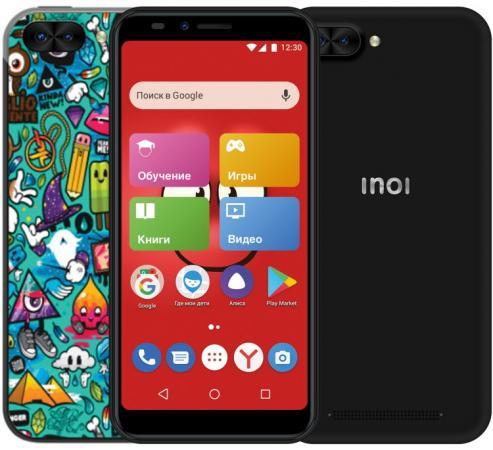 Смартфон Inoi kPhone 4G черный 5.5 8 Гб Wi-Fi GPS 3G Bluetooth