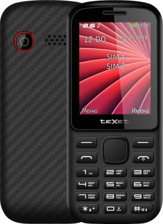 купить teXet TM-218 черный-красный Мобильный телефон дешево