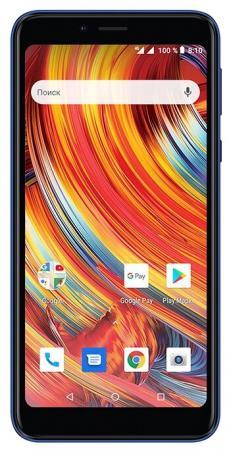 "Смартфон Texet TM-5084 Pay 5 4G синий 5"" 8 Гб NFC Wi-Fi GPS 3G Bluetooth цена 2017"