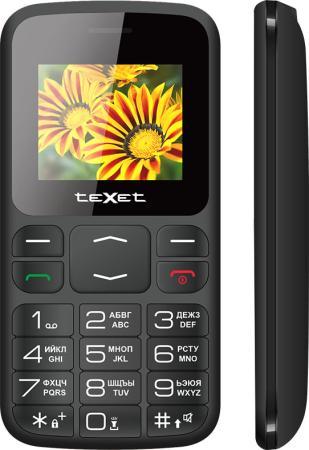 Мобильный телефон Texet TM-B208 черный 1.77