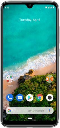 Смартфон Xiaomi Mi A3 белый 6.09 64 Гб LTE GPS Wi-Fi 3G Bluetooth