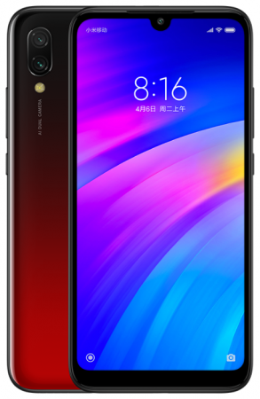 Смартфон Xiaomi Redmi 7 красный 6.26 32 Гб GPS Wi-Fi 3G Bluetooth смартфон