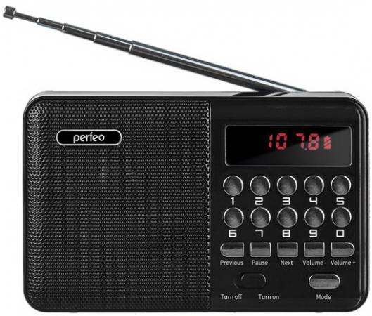 Купить Perfeo радиоприемник цифровой PALM FM+ 87.5-108МГц/ MP3/ питание USB или 18650/ черный (i90-BL)