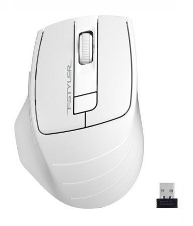 A-4Tech Мышь FStyler FG30 GREY серый оптическая (2000dpi) беспроводная USB [1147559] мышь беспроводная a4tech fstyler fg30 серый оранжевый usb