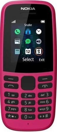 """Мобильный телефон NOKIA 105 DS розовый 1.77"""" 4 Мб стоимость"""