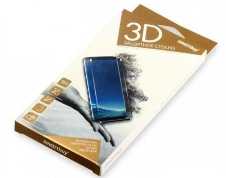 Защитное стекло Smartbuy для iPhone 7/8 Plus 10D(3D) черное [SBTG-3D0007] защитное стекло для iphone interstep для iphone 7 3d черное is tg ipho73dbl 000b201