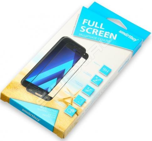 Защитное стекло Smartbuy для Samsung Galaxy A6 с черной рамкой 2.9D [SBTG-FR0010] защитное стекло smartbuy sbtg 3d0013 для samsung galaxy s8 3d 0 33 мм полное покрытие экрана с рамкой черный