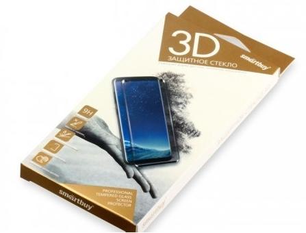 Защитное стекло Smartbuy для Samsung Galaxy Note 9 10D(3D) черное [SBTG-3D0022] защитное стекло smartbuy sbtg 3d0013 для samsung galaxy s8 3d 0 33 мм полное покрытие экрана с рамкой черный